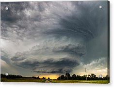 Mothership Acrylic Print by Krista Giese
