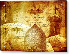 Moths And Mosques Acrylic Print by Tammy Wetzel