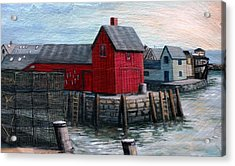 Motif No.1 Acrylic Print by Eileen Patten Oliver