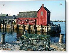 Motif Number One II Rockport Massachusetts Acrylic Print