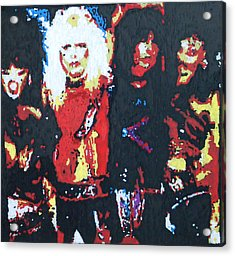 Motley Crue Without Sun Acrylic Print by Grant Van Driest