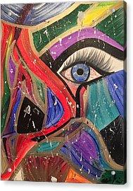 Motley Eye Acrylic Print