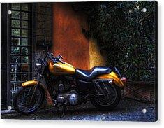 Moto 1 Acrylic Print by Brian Thomson
