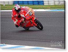 Moto Grand Prix 2015 Acrylic Print by Blair Stuart