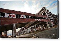 Motor City Industrial Park The Detroit Packard Plant Acrylic Print by Gordon Dean II