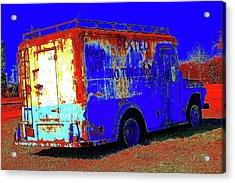 Motor City Pop #13 Acrylic Print