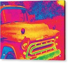 Motor City Pop #6 Acrylic Print