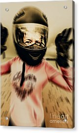Motorbike Accident  Acrylic Print by Jorgo Photography - Wall Art Gallery
