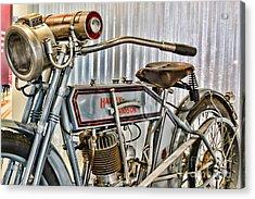 Motorcycle - 1913 Harley Davidson 9a Acrylic Print
