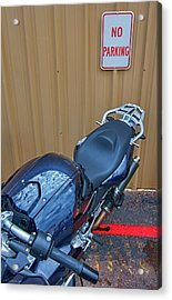 Acrylic Print featuring the photograph Motorcycle Privilege by Britt Runyon