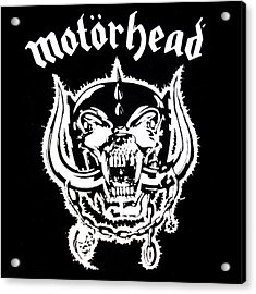 Acrylic Print featuring the digital art Motorhead by Gina Dsgn