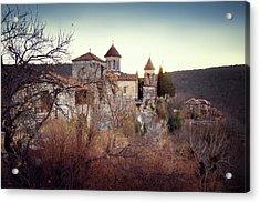 Motsameta Monastery Acrylic Print by Svetlana Sewell
