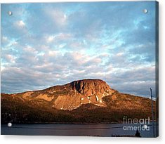 Mottled Sky Of Late Spring Acrylic Print by Barbara Griffin