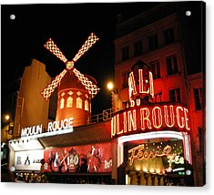 Moulin Rouge Paris Acrylic Print