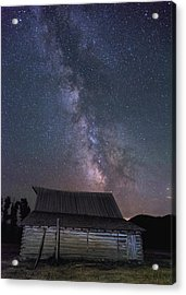 Moulton And The Milky Way Acrylic Print