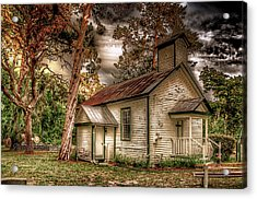 Moultrie Church At Dusk Acrylic Print