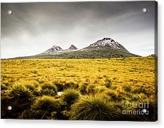 Mount Arrowsmith Tasmania Australia Acrylic Print by Jorgo Photography - Wall Art Gallery