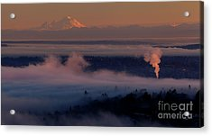 Mount Baker In The Distance Acrylic Print