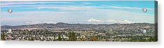 Mount Baldy And Mountain High Acrylic Print by Angela A Stanton