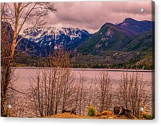 Mount Baldy From Point Park Acrylic Print
