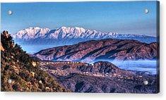 Mount Baldy Acrylic Print