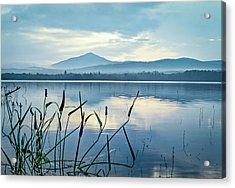 Mount Blue Acrylic Print