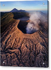 Mount Bromo At Sunrise Acrylic Print