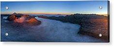 Acrylic Print featuring the photograph Mount Bromo Scenic View by Pradeep Raja Prints