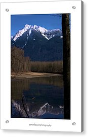 Mount Cheam2 Acrylic Print by Peter Classen