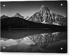Mount Chephren Reflection Acrylic Print