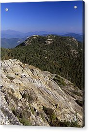 Mount Chocorua - White Mountains New Hampshire Usa Acrylic Print by Erin Paul Donovan