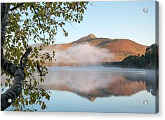 Mount Chocorua In Fog 0398 Acrylic Print by Dan Beauvais