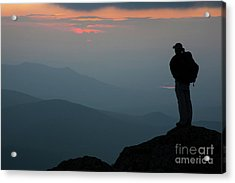 Mount Clay Sunset - White Mountains, New Hampshire Acrylic Print