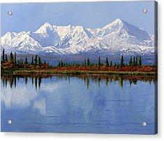 mount Denali in Alaska Acrylic Print