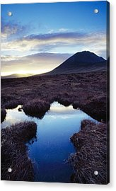Mount Errigal, County Donegal, Ireland Acrylic Print by Gareth McCormack