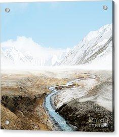Acrylic Print featuring the photograph Mount Everest  by Setsiri Silapasuwanchai