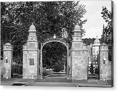 Mount Holyoke College Field Gate Acrylic Print by University Icons