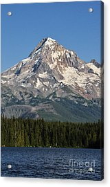 Mount Hood Above Lost Lake Acrylic Print