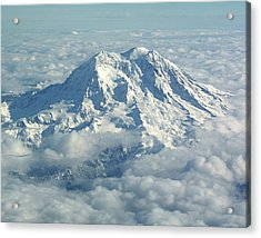 Mount Hood From Above Acrylic Print