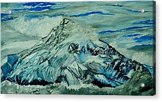 Mount Hood  Acrylic Print by Gregory Allen Page