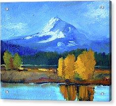 Mount Hood Acrylic Print