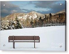 Mount Huntington - White Mountains New Hampshire  Acrylic Print by Erin Paul Donovan
