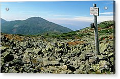 Mount Jefferson - White Mountains New Hampshire  Acrylic Print