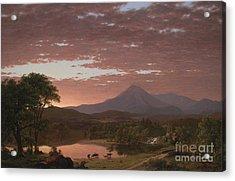 Mount Katahdin Acrylic Print