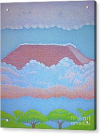 Mount Kilimanjaro Acrylic Print