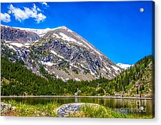 Mount Lincoln Acrylic Print by Dennis Wagner