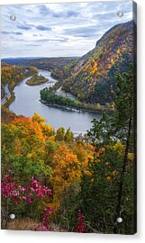 Acrylic Print featuring the photograph Mount Minsi 2 by Mark Papke