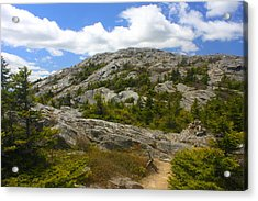 Mount Monadnock Summit From Pumpelly Trail Acrylic Print