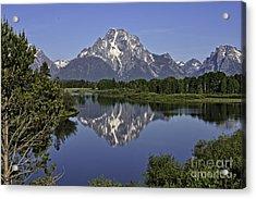Mount Moran Reflections Acrylic Print
