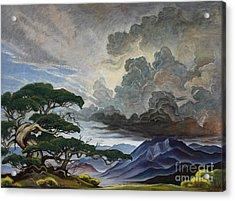 Mount Nebo Acrylic Print